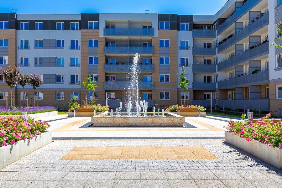 fontanna na osiedlu di Trevi, Krzyki Wrocław