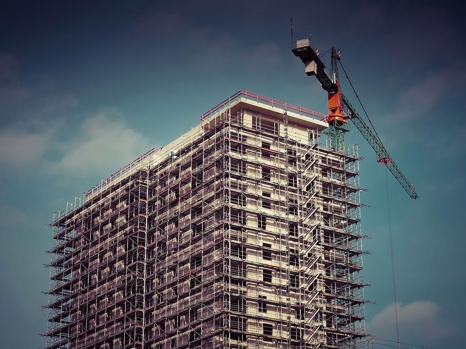 nowa inwestycja mieszkalna - budowa