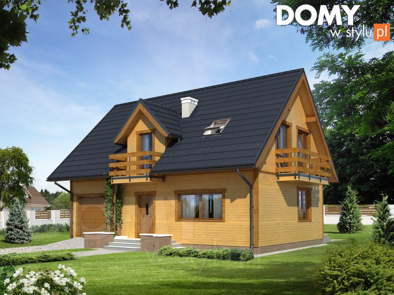 Projekty domów szkieletowych. Czy drewniany dom energooszczędny jest możliwy?